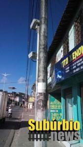 Radar colocado na Avenida Suburbana sem Placas de Velocidade
