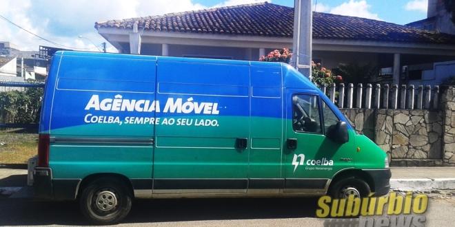Agência móvel da Coelba em Periperi