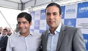 ACM Neto e Bruno Reis