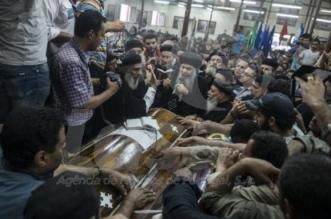 Um ataque terrorista contra um ônibus que levava cristãos coptas deixou pelo menos 23 mortos e diversos feridos no Egito hojeMohamed Hossan/EPA/Agência Lusa