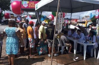Ação Social na Praça João Martins, em Paripe